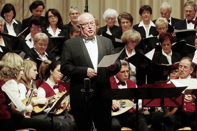 Ein Fest für Sänger, Dirigent und 500 Gäste