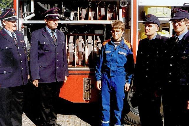 Eine Feuerwehr-Familie