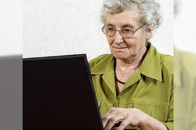 Mehr Senioren sollen im Internet surfen