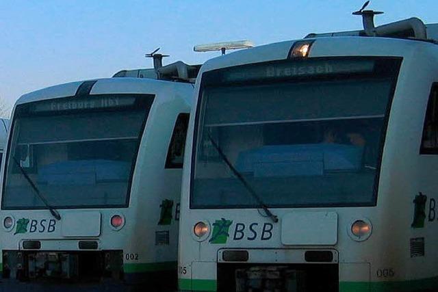 Mutwillige Zerstörungen in der Breisgau-S-Bahn