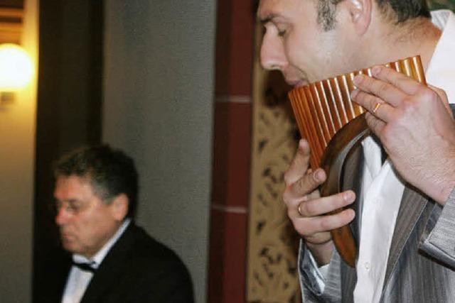 Virtuose und dazu anrührende Panflötentöne