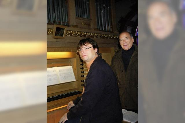 Orgel tönt in neuem Glanz