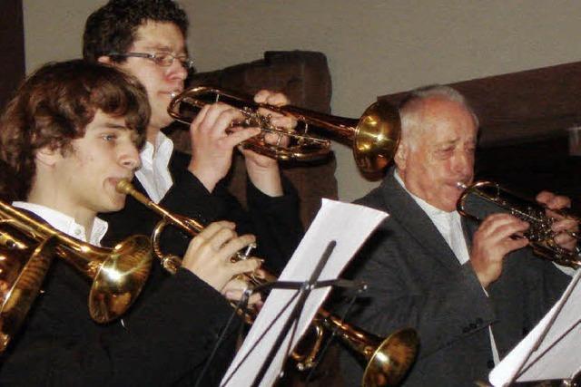 Der Bläserkreis wird zur Paulus-Brass-Band