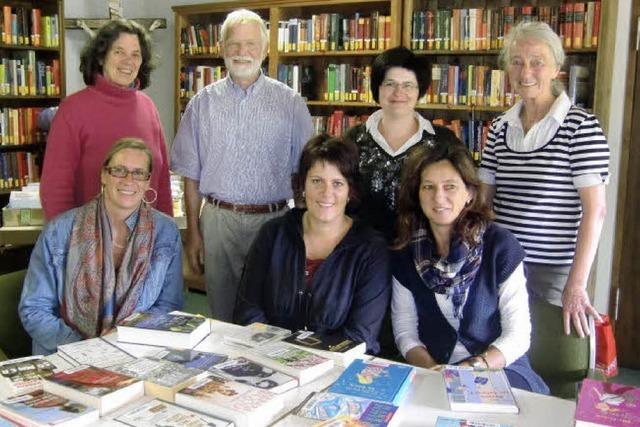 Bibliothek bietet auch Besucherdienst