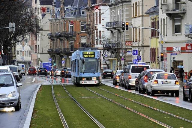 Habsburgerstraße: Verkehr rollt ohne Probleme
