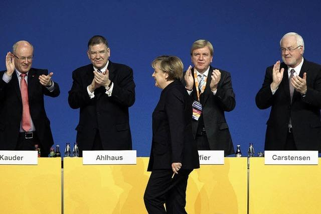 CDU steht zu Angela Merkel