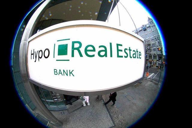 Hypo Real Estate fährt weiteren hohen Millionenverlust ein