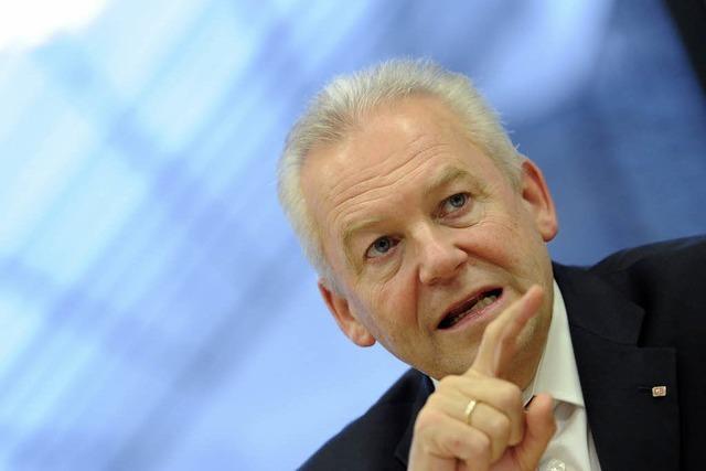 Liveübertragung: Bahnchef Grube diskutiert über S21