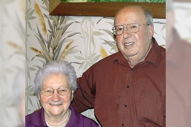 Ein engagiertes Paar – seit 60 Jahren verbunden