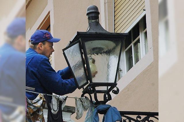 Alte Lampen kommen raus