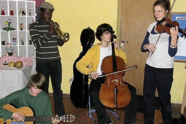 Trommeln für Uganda