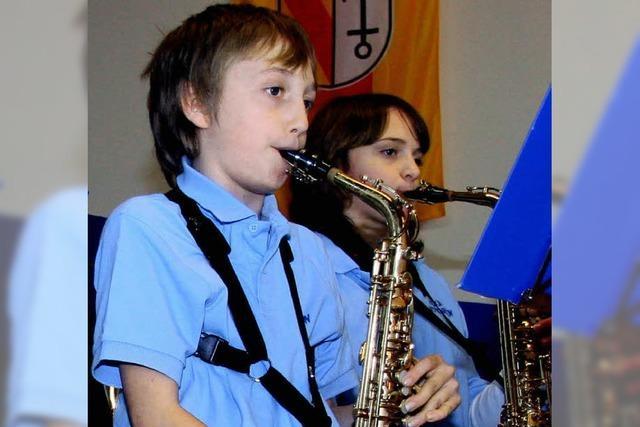 Viel Applaus für junge Musiker
