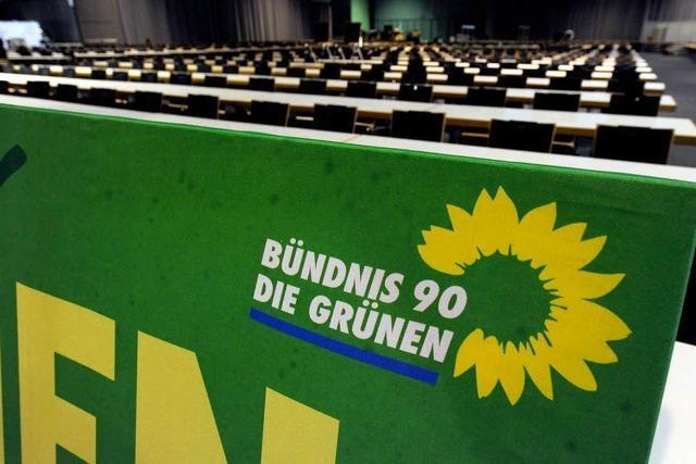 Grüne in der Green City auf dem Bundesparteitag