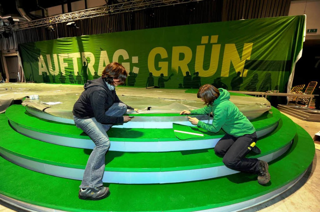 Grüne in der Green City  | Foto: Ingo Schneider
