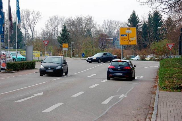 Stadteinfahrt droht Verkehrskollaps