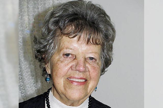 Ludwina Trützler ist 85