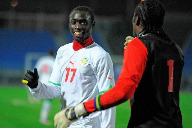 Cissé trifft auch im Nationaltrikot