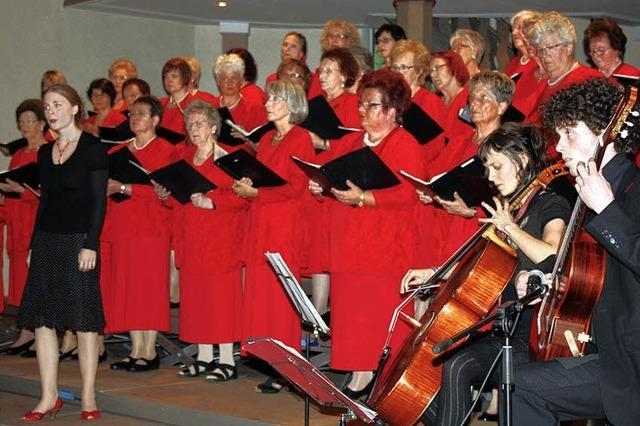 Sängerinnen laden zur Mitmach-Probe
