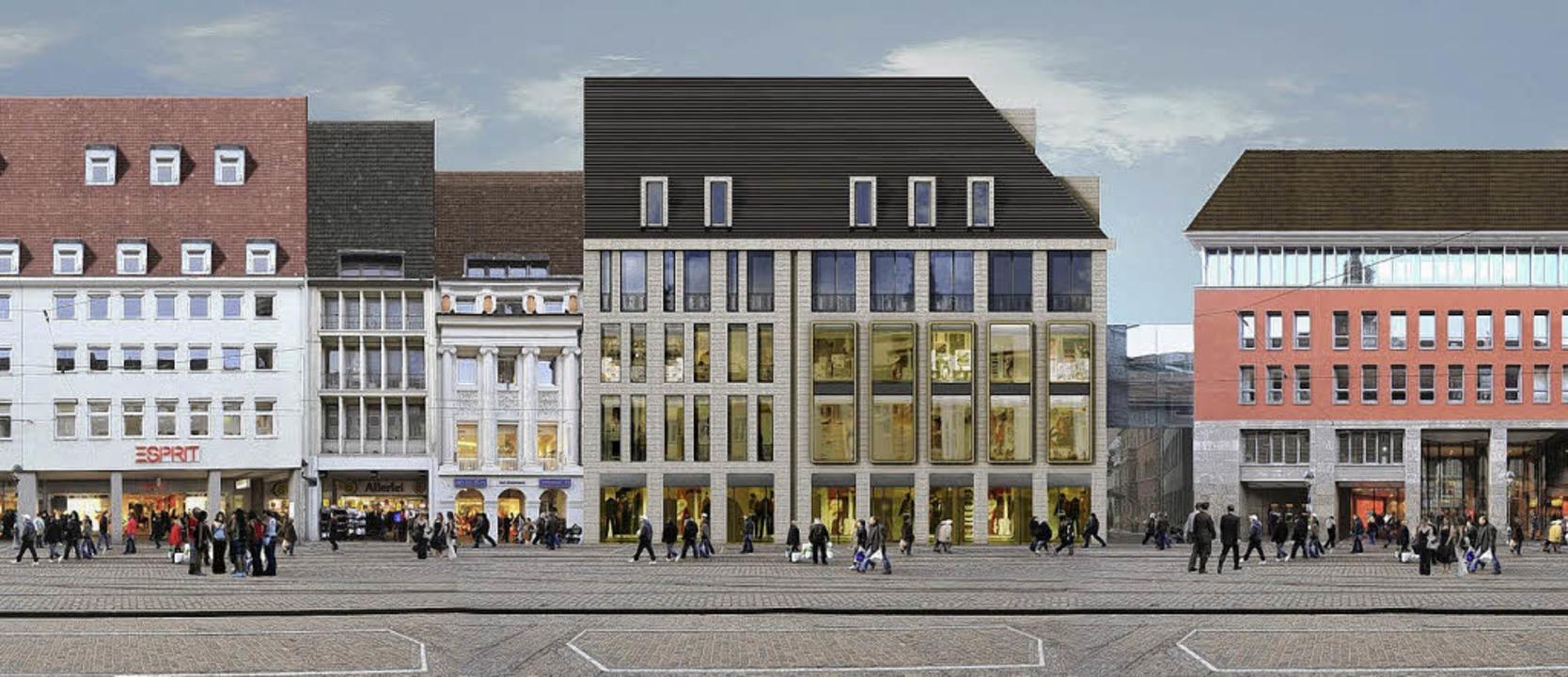 Beliebig sei die Fassade, die der Arch...entworfen hat, meint der Bauausschuss.    Foto: wöhr