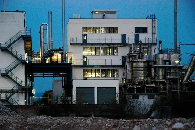 Abwärtsspirale in der Chemie am Hochrhein?