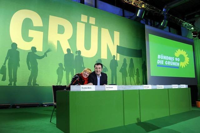 Bundesparteitag der Grünen in Freiburg