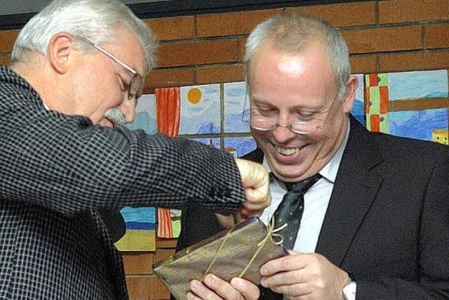 Rektor Klauser sieht Werkrealschule auf gutem Weg