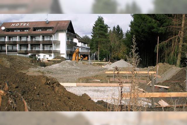Vier statt fünf neue Häuser