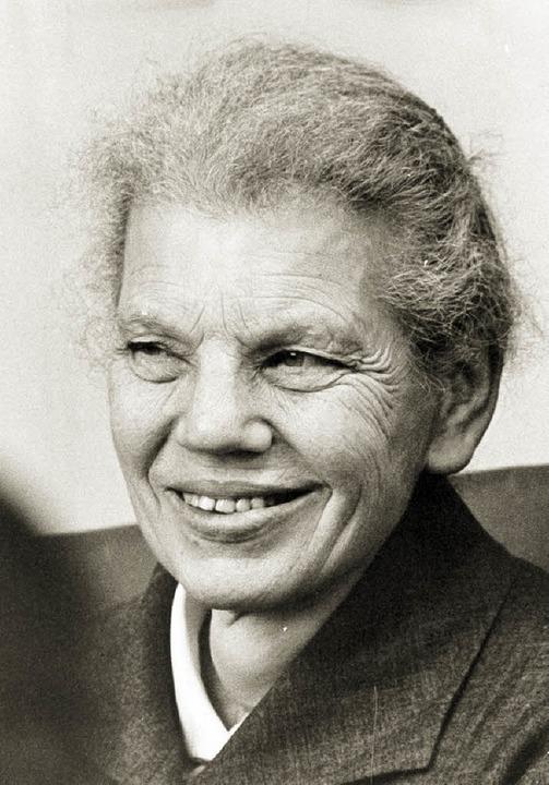 Ehrenbürgerin, Judenretterin: Gertrud Luckner (1900 – 1995)  | Foto: KNA