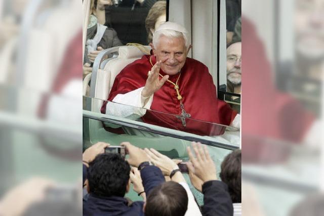 Der Papst sagt Ja zu Freiburg