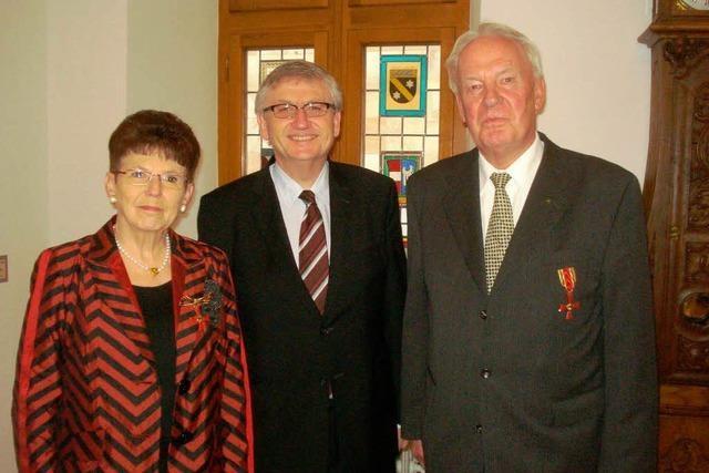 Bundesverdienstkreuz für zwei Weiler