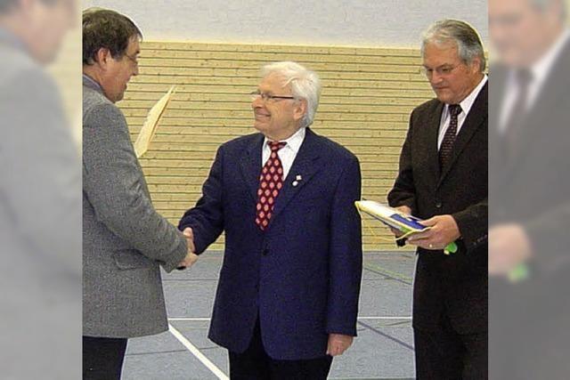 Rudolf Höpker ist Sportler des Jahres