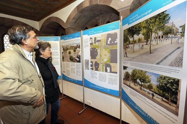 Großes Interesse am Umbau der Stadt
