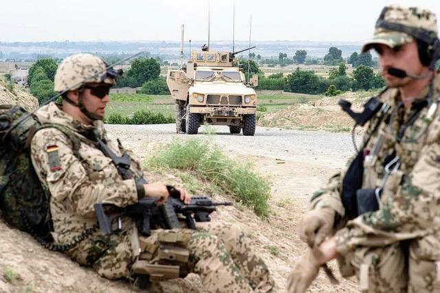 Drei Bundeswehrsoldaten in Afghanistan verletzt