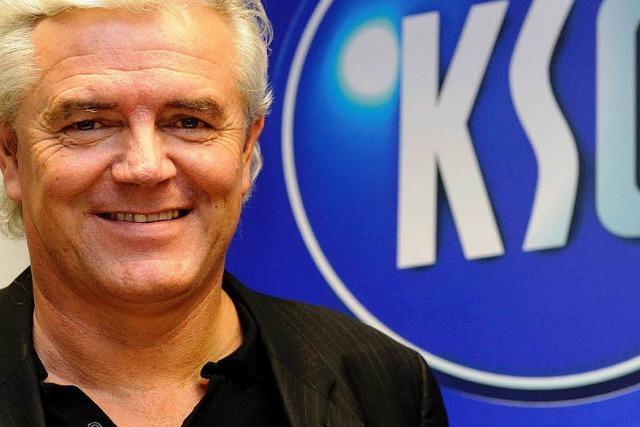 Zweiter Liga: Rapolder soll den KSC retten