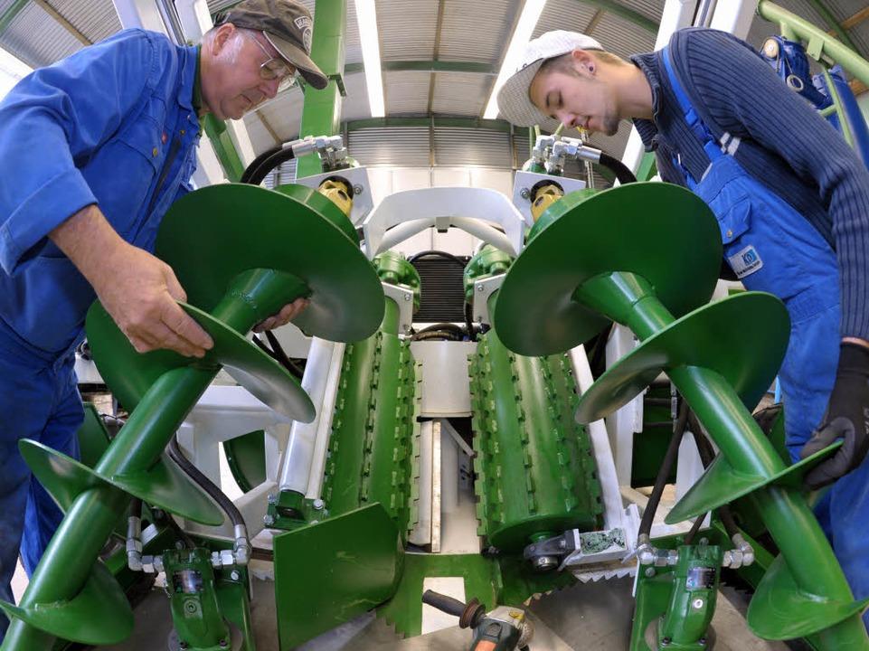 Der Maschinenbau zählt zu den Triebfedern der Wirtschaft.    Foto: dpa