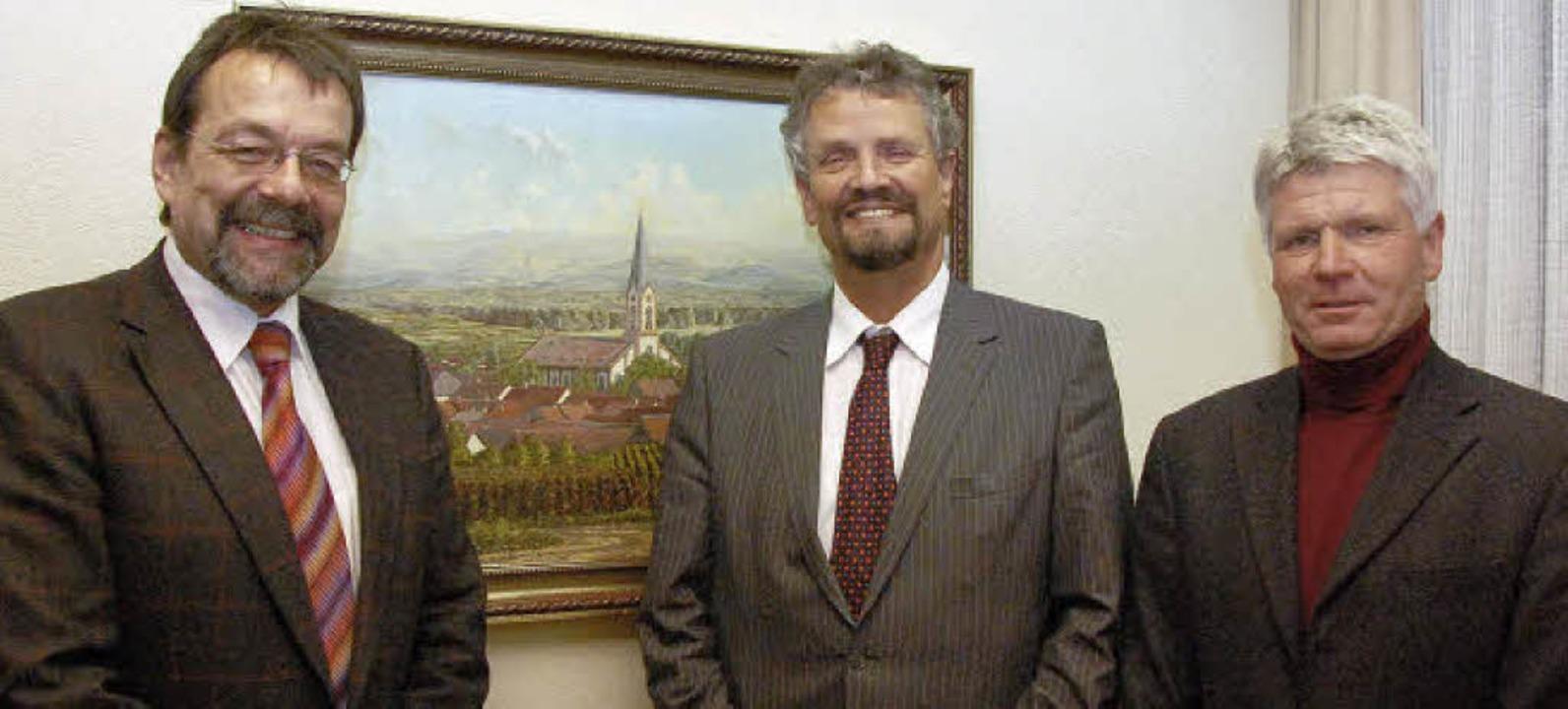 Der SPD-Bundestagsabgeordnete Gernot E...s Lai  zu einem Informationsaustausch.  | Foto: kai kricheldorff