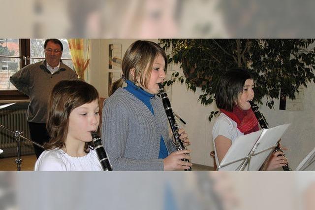 Nachwuchsmusiker mit viel Potenzial