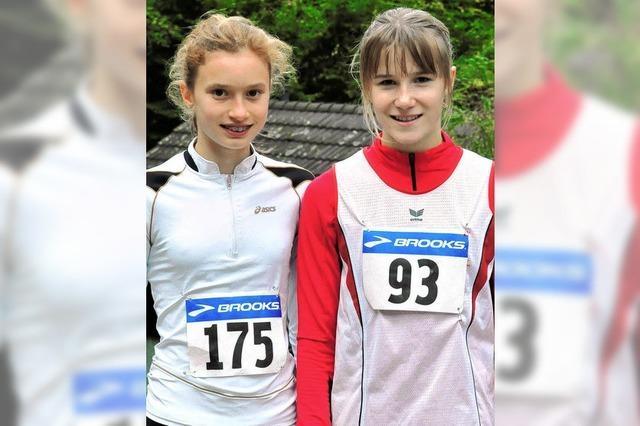 Lara-Ann Schwede auf dem ersten Platz