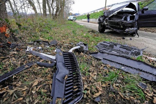 Ein Toter auf dem Autobahnzubringer
