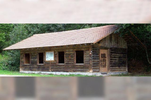 Die Lipple-Hütte soll wieder aufgebaut werden