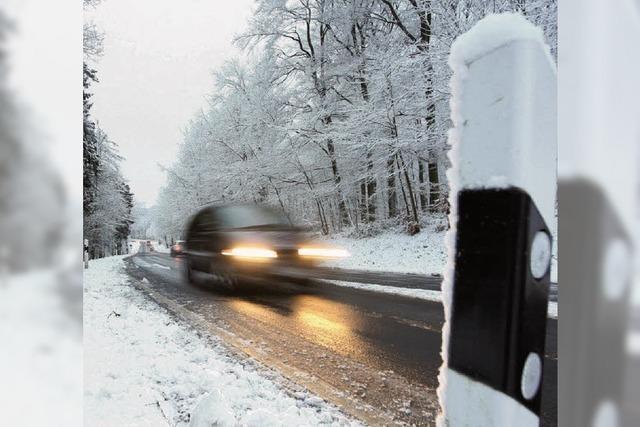 AUTOFAHREN BEI EIS UND SCHNEE: Teure Wintersünden