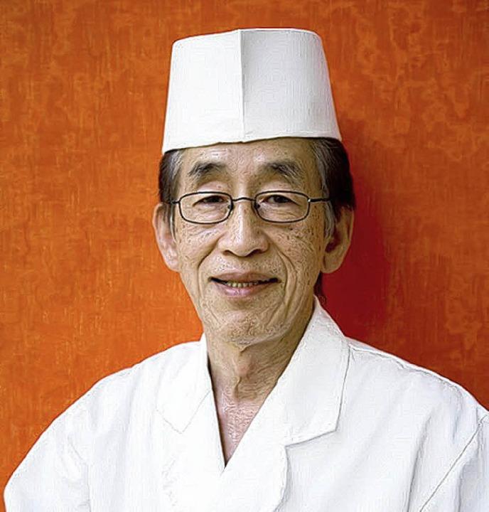 30 Jahre  Ausbildung: Sushi-Meister Yuichi Kusakabe  | Foto: wissing