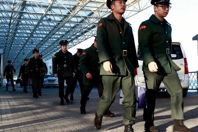 Südkorea verstärkt Militärpräsenz