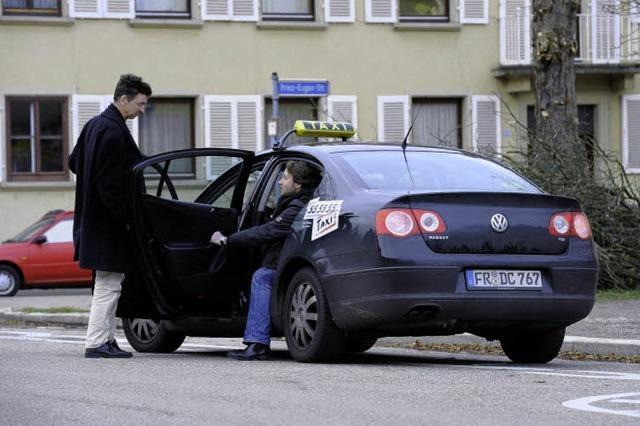 Mit dem 1-Euro-Taxi durch die Wiehre