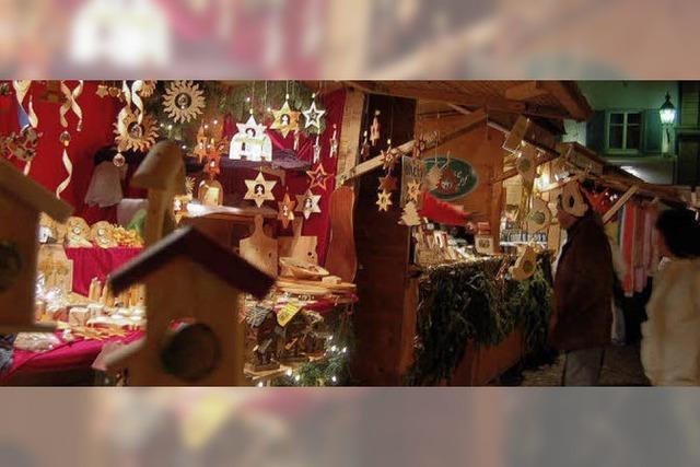 Um Weihnachten ist viel geboten