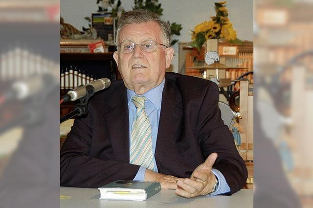 Erwin Teufel kommt zur CDU nach Elzach
