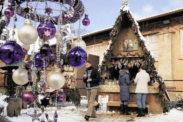 Weihnachtszauber eröffnet