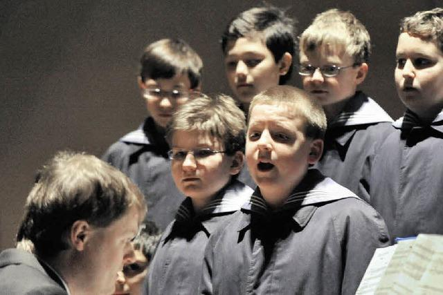 Wiener Sängerknaben begeistern