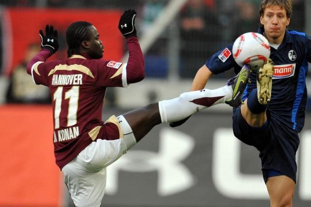SC Freiburg verliert 3:0 in Hannover