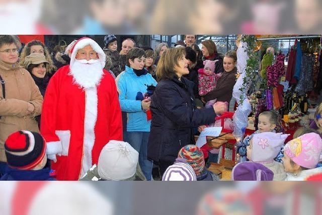 Der Nikolaus kam mit der Kutsche